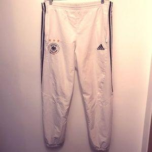 Adidas Deutscher Fussball Bund Soccer Pants Size M